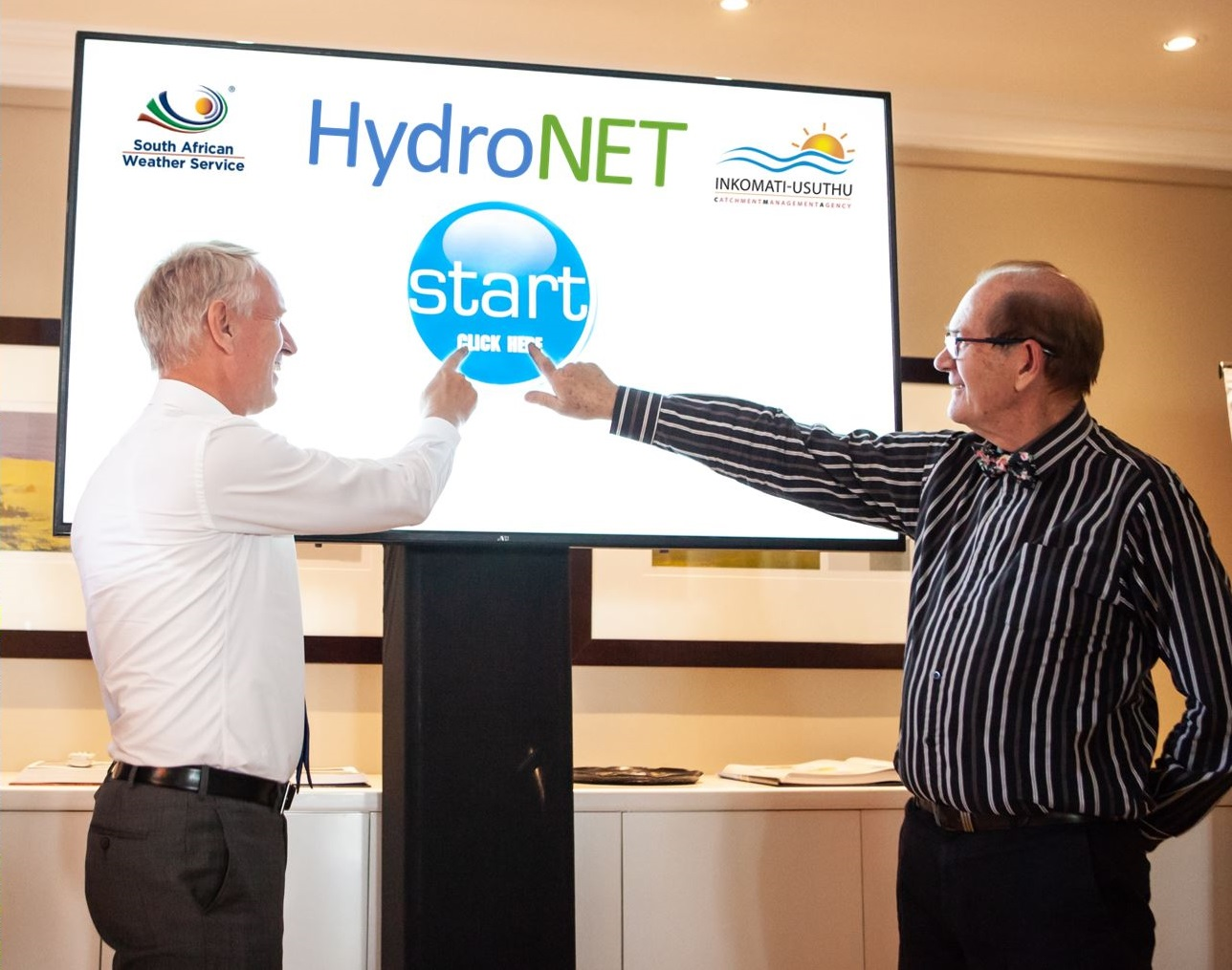 Launch HydroNET South Africa